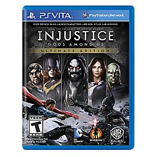 Injustice Gods Among Us Ultimate Edition para PS Vita