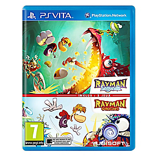 Videojuego Rayman Legends + Rayman OR para PS Vita