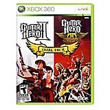Videojuego Guitar Hero II y Guitar Hero Aerosmith para Xbox 360