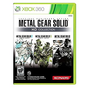 Videojuego Metal Gear Solid HD Colección Xbox 360