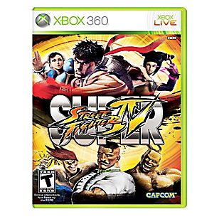 Videojuego Super Street Fighter IV Xbox 360