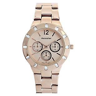 Reloj Mujer Metal Oro Rosa