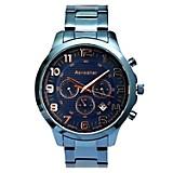 Reloj Hombre Metal Azul