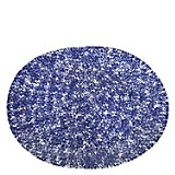 Fuente Oval 41x31cm Blue Sponge
