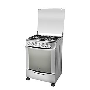 Cocina a Gas EG3090CX1 Inox 6 Quemadores