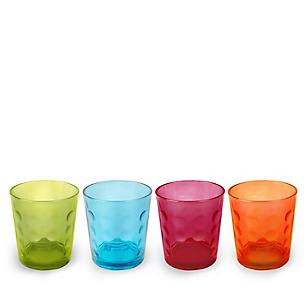 Set x 4 Vasos Bajo 12 oz Color