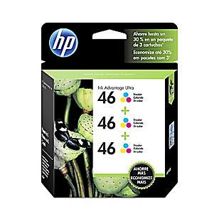 HP Tinta 46 Tricolor Tripack