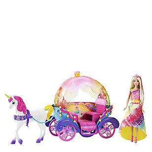 Muñeca Princesa, Caballo y Carruaje