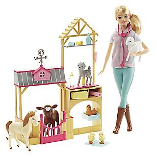 Barbie Veterinaria de Granja