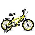 Bicicleta Flash Aro 16 Amarillo/Azul