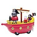 Peppa Bote pirata Abuelo perro