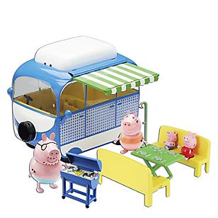 Figuras Peppa Vacaciones Campervan