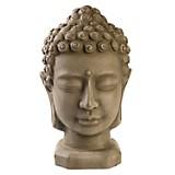 Adorno Cabeza Buddha Terracota 39cm