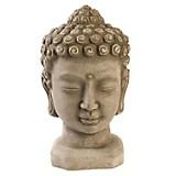 Adorno Cabeza Buddha Terracota 24cm