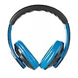 Audífono con Micrófono Azul