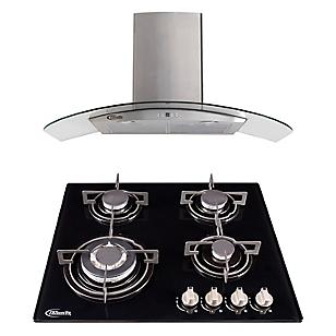 Combo: Cocina Empotrable + Campana Decorativa