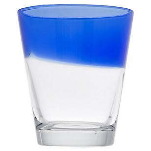 Vaso Bajo Half Azul