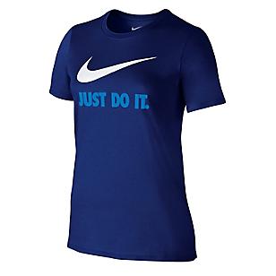 Camiseta Just Do It Swoosh Azul
