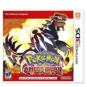 Videojuego para 3DS Pokémon Omega Ruby