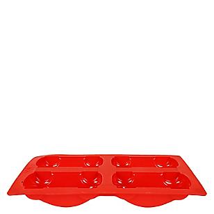 Molde Carros Rojo Oven