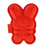 Molde Conejos Rojo Oven