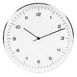 Reloj Número Plateado 31 cm