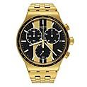 Reloj Hombre Analógico dorado