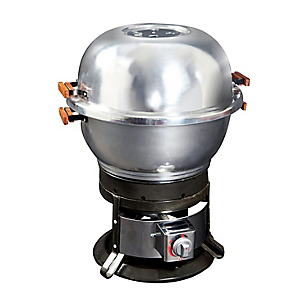 Parrilla dual Portátil Gas/Carbón