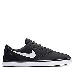 Zapatillas Skate Hombre SB Check Canvas Negro / Blanco