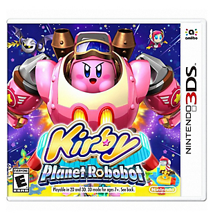 Videojuego para Nintendo 3DS Kirby Planet Robobot