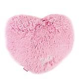 Cojín Fur Corazón Rosa