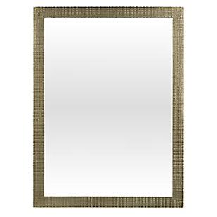 Espejo con Pie Gris 30x140 cm