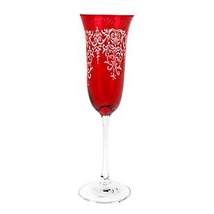 Copa Champaña Rojo 160 ml