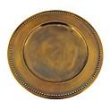 Plato Sitio Ac. Gold 35cm