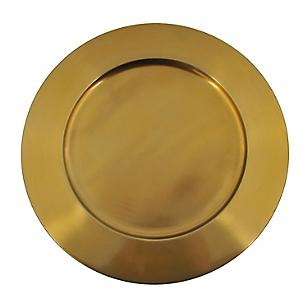 Plato Sitio Ac. Gold Bolas 35cm