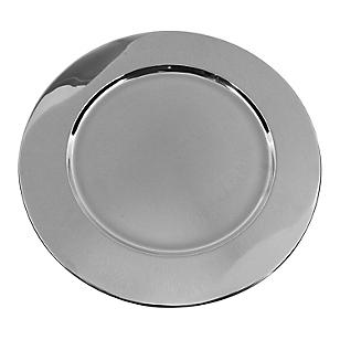 Plato Sitio Ac. Silver 35cm