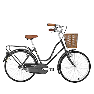 Bicicleta paseo negra