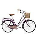 Bicicleta paseo morada