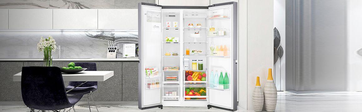 Rerigeradora Premium en la cocina