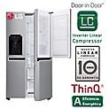 Refrigeradora GS65SDPN 601 lt Inox