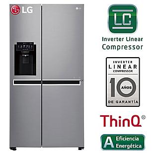 LG Refrigeradora GS65SPPNG 601 Lt Inox