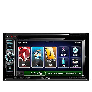 Autoradio DNX5710BT Multimedia GPS Negro