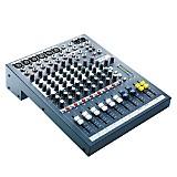 Consola de Audio EPM-6CH 6 Canales Gris