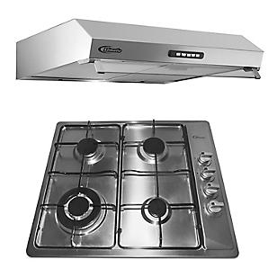 Combo Cocina Empotrable Premio I + Campana Extractora Vento 60