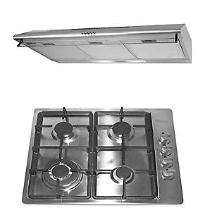 Combo Cocina Empotrable Premio Plus + Campana Extractora CK902 IX