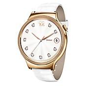 Smartwatch Lady Elegant Cuero Blanco