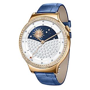 Smartwatch Lady Jewel Cuero Azul