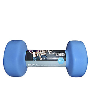 Mancuerna de Neopreno 3 kg Azul