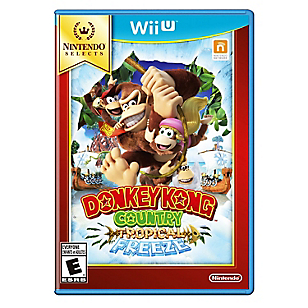 Videojuego Wii U Donkey Kong : Tropical Freeze