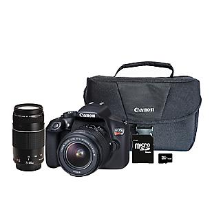 Combo EOS 40: Cámara T6+ Lente EF + Maletín + SD 16GB